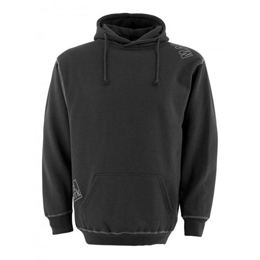 Bluza robocza z kapturem - czarna Almeria