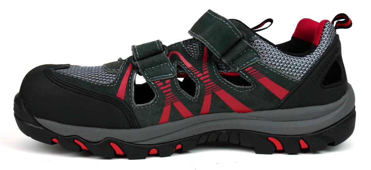 Lekkie i przewiewne sandały robocze z kompozytowym podnoskiem Lahti Pro L30603
