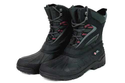 Gumowane buty robocze z ociepleniem na zimę SKL 570400