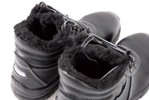 Futerkowe wykończenie wnętrza buta Demar Gloss Up